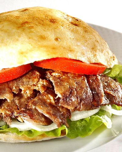 Кулинарные рецепты: пита с мясной начинкой