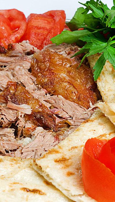 Кулинарные рецепты: пита в жареном мясе