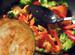 Кулинарные рецепты: лепешка с салатом из брокколи